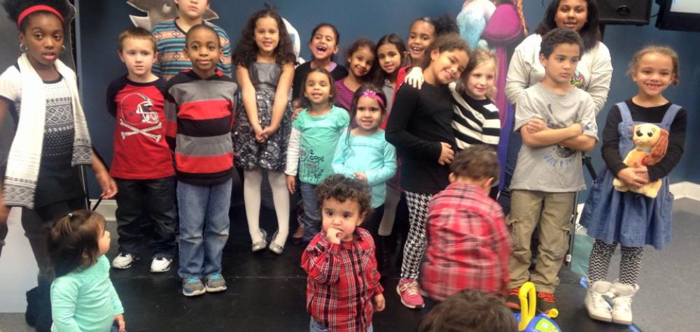 SMU Kids at Christmas Party/Gift Giving Drive - December 2014