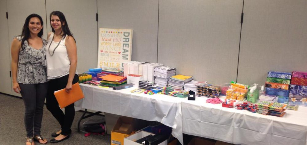 Back to School Supply Drive - August 2014